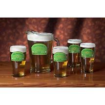 Personalized A Bit Irish 20 oz. Glasses - Set of 4
