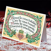 Irish Christmas - Claddagh Christmas Cards