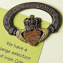 SALE - Irish Claddagh Magnet
