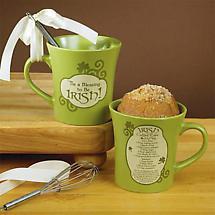 Irish Coffee Cake in a Mug