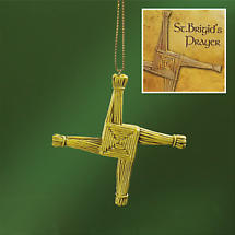 Irish Christmas - St. Brigid's Cross Ornament