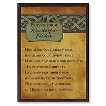 Irish Parent Plaque - Father