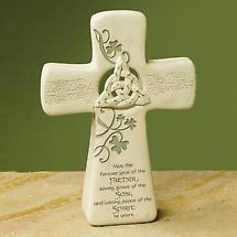 Trinity Knot Standing Cross