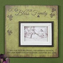 Irish Family Photo Plaque