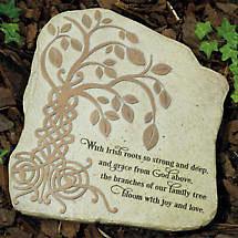 Irish Tree of Life Garden Stone