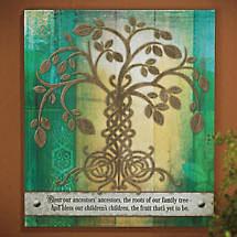 Irish Tree of Life Plaque