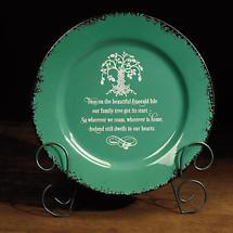 Irish Tree of Life Plate