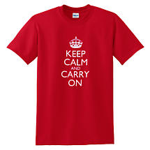 Irish T-Shirt - Keep Calm and Carry On