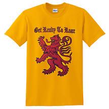 Scottish T-Shirt - Get Ready to Roar Rampant Lion