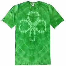 Irish T-Shirt - Shamrock Tie Dye