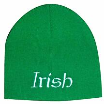 """Irish"" Beanie Hat - Green"