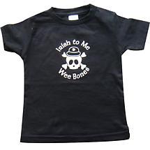 "Irish T-Shirt - ""Irish to Me Wee Bones"" Toddler T-Shirt"