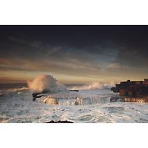 Atlantic waves near Doolin, Co Clare Photographic Print