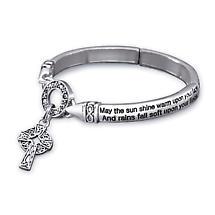 Irish Blessing Stretch Bracelet
