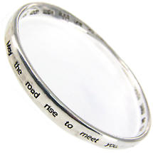 Irish Blessing Mobius Bangle