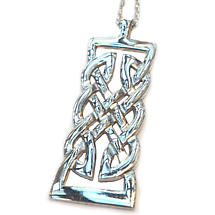 Celtic Pendant - Sterling Silver Celtic Warrior Knot Pendant