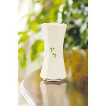 Belleek Shamrock Trellis 7 inch Vase