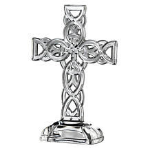 "Galway Crystal 10"" Celtic Cross"