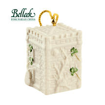 Irish Christmas - Belleek Castle Caldwell Gate House Annual 2015 Bell Ornament