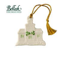 Irish Christmas - Belleek Blacksod Lighthouse Ornament