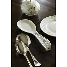 Belleek Shamrock Spoon Rest