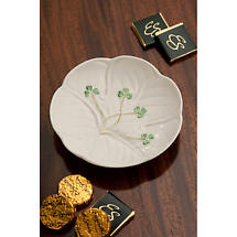 Belleek Shamrock Shaped Dish