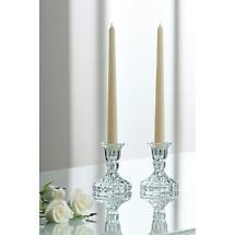 Galway Crystal Ashford Candlesticks Pair