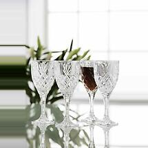 Galway Crystal Renmore Goblets - Set of 4