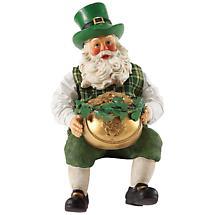 Irish Christmas - End of the Rainbow Santa