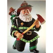 Irish Christmas - Irish Fireman Santa