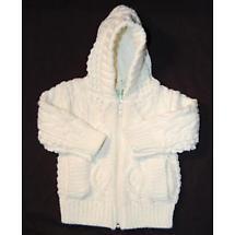 Children's Aran Zip Sweater