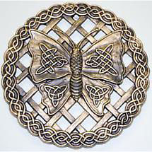 Celtic Butterfly Stepping Stone or Wall Plaque