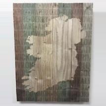 Ireland Counties Wood Pallet Plaque
