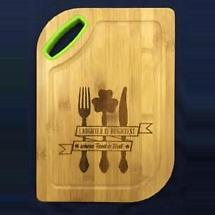 Irish Utensils Cutting Board