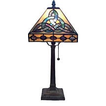 Stained Glass Trinity Lamp