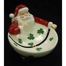 Irish Christmas - Irish Santa Treat Bowl