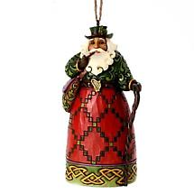 Irish Christmas - Irish Santa Ornament