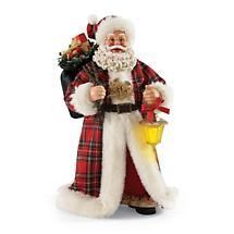 Irish Christmas - Plaid Tidings Santa