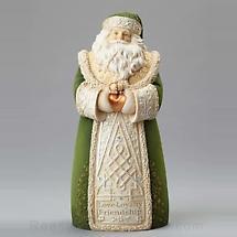 Irish Christmas - Love, Loyalty & Friendship Santa