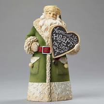 Irish Christmas - Home is the Heart of the Holidays Irish Santa