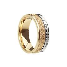 Celtic Ring - Comfort Fit 'Faith' Trinity Knot Irish Wedding Band