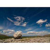 Boulder on the Burren Photographic Print