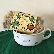 Luck o' the Irish Bowl with Shamrock Pasta