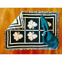 Shamrock Placemat & Napkin Set