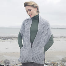 Super Soft Merino Stole with Pockets