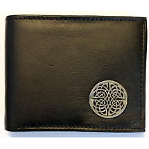 Irish Wallet - Celtic Knot Circle Leather Wallet