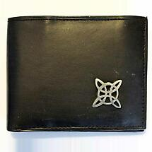Irish Wallet - Celtic Knot Trinity Leather Wallet
