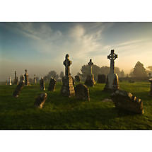Clonmacnoise early morning Photographic Print