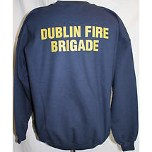 Irish Sweatshirt - Dublin Fire Brigade Sweatshirt