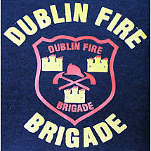 Irish Sweatshirt - Dublin Fire Brigade Zip Hooded Sweatshirt
